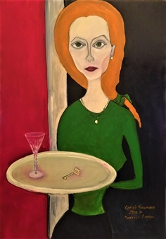 Sergey Klychkov - Anna Oil on Canvas, Paintings