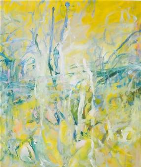 Sari Moilala - Long Waited Long Needed Acrylic on Canvas, Paintings