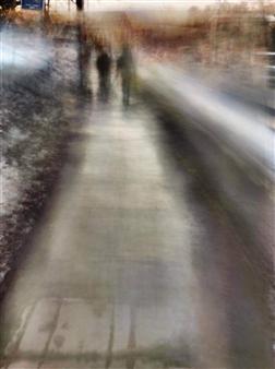 Evan William Plunkett - A Distant Couple Archival Pigment Print, Photography
