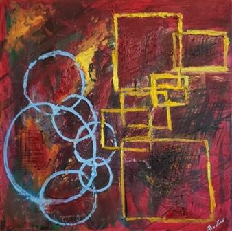 Rosalind Panda Dykla - Deep Eye Catcher Paintings, Paintings
