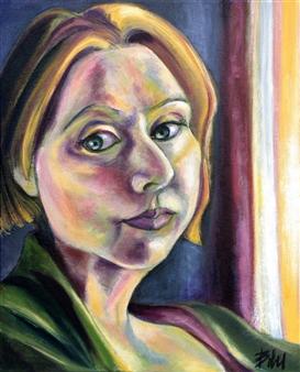 Clara de Bobes - Hilary Acrylic on Canvas, Paintings