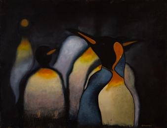 Britt-Marie Tidemand - Oh! I am So Beautiful Oil on Canvas, Paintings