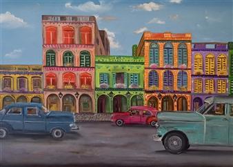 Riccardo Bartoli - Bienvenidos Oil on Canvas, Paintings
