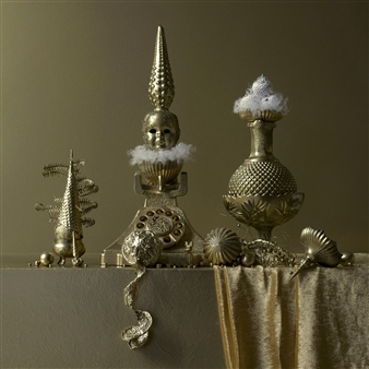 Art Golacki - Still Life in Gold with Miss Call / second variation Archival Pigment Print, Photography