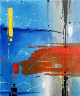 Abenamar Bauta Delgado - La pasión de Santiago Acrylic on Canvas, Paintings