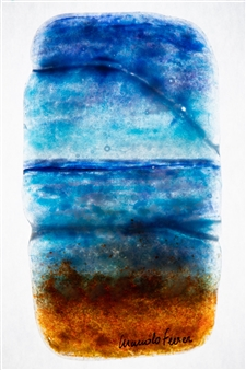 Manolo Ferrer - Formentera 1 Glass Painting, Prints