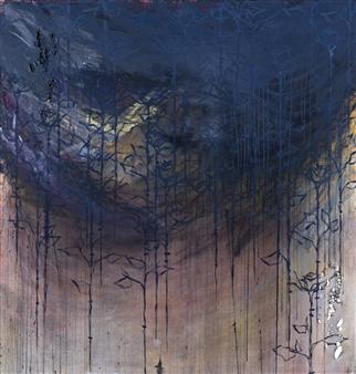 Vincent Donato - Pt. 2 Mixed Media on Canvas, Mixed Media