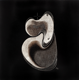 Bojko Jerman - K82 Hand Silver Engraving in Painted Aluminum, Drawings