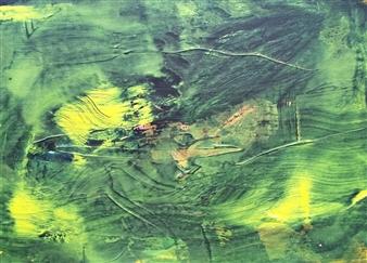 Makoto Oshima - No. 210218 Acrylic on Canvas, Paintings