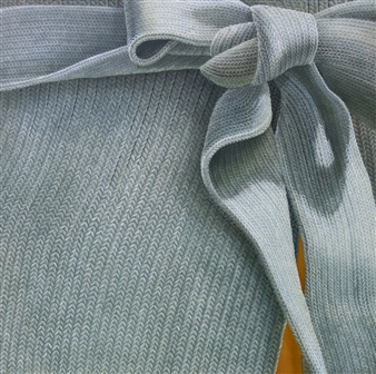 Jae Young Park - Woolscape - Ribbon Oil on Canvas, Paintings