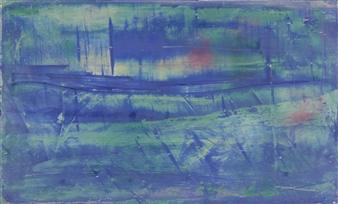 François-Jérôme Bringuier - Nocturnal Wanderings Oil on Wood, Paintings