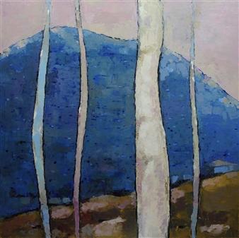 Becky Sungja Kim - OPL 1802 Oil on Canvas, Paintings