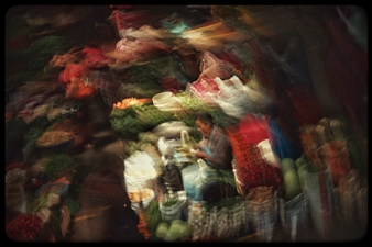 Daniel Johananoff - The Greengrocer Archival Pigment Print on Plexiglass, Photography