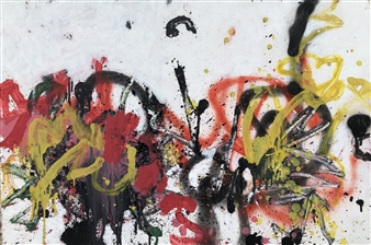 Marek Wasylewicz - Tue 2 Acrylic & Oil on Fiber Board, Paintings