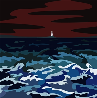 Phil Leith-Tetrault - Storm Off Belle Island Digital Print on Paper, Prints