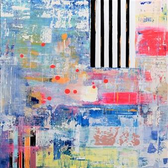 Jeannette Dannehl - Havanna Love Acrylic on Canvas, Paintings
