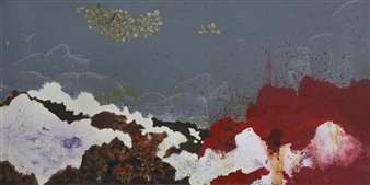 Eric Richter - Decadent Winter Acrylic & Mixed Media on Canvas, Mixed Media
