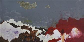 Eric Richter - Decadent Winter Acrylic & Mixed Media on Canvas, Mixed Media