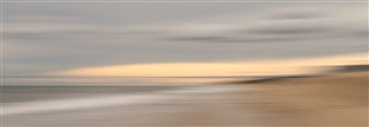 Gottfried Roemer - Montauk Beach Sundown Photograph on Aluminum, Photography