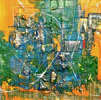 Alexey SAVART - Time Time Volumetric Copyright Technique, Paintings
