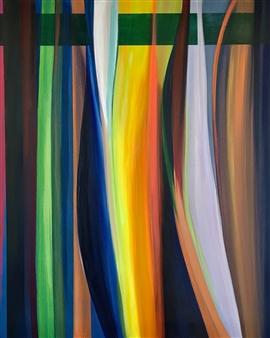 Rebecca Stenn - Window Acrylic on Canvas, Paintings