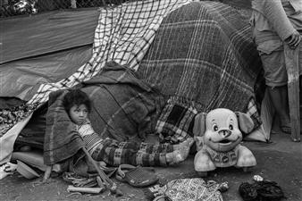 Ada Luisa Trillo - The Migrant Caravan #5 Archival Pigment Print, Photography