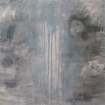 Laura Menzies - Renewal 2 Oil & Pastel on Canvas, Paintings