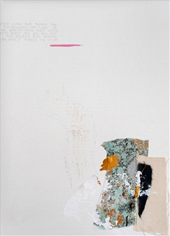 Merritt Spangler - Subtle Undoing No.11 Acrylic on Paper, Paintings
