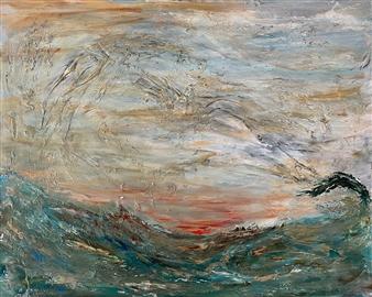 David Lionheart - Fresh Air Acrylic on Canvas, Paintings