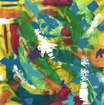 Travis Ballantyne - Electric Acrylic on Canvas, Paintings