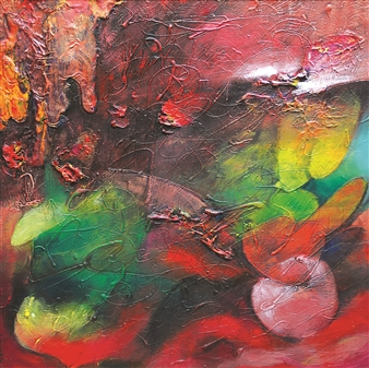Saurabh Mohan - Creation 4 Acrylic on Canvas, Paintings