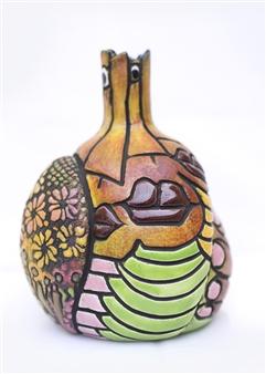 Nora Pineda - Southern KIss Ceramic, Sculpture