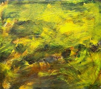Makoto Oshima - No. 210612 Acrylic on Canvas, Paintings
