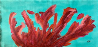 Carlos E. Porras M. - Il Coralo I Acrylic on Canvas, Paintings