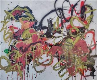 Marek Wasylewicz - Wen 1 Acrylic & Oil on Canvas, Paintings