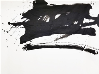 Hiroshi Wada (和田 浩志) - ZERO_02 Japanese Calligraphy on Paper