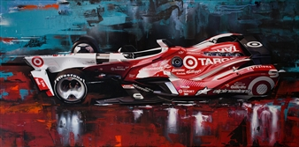 Matus Prochaczka (WEKOWORKS) - 9_Scott Dixon Vision Digital Artwork Print on Canvas & Acrylic, Mixed Media
