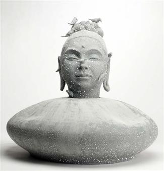 Susan Kadish - 4687 Stoneware, Sculpture