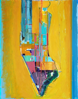 Ashley Hanson - City of Glass 6 – (Pages 106 - 112) Oil on Canvas, Paintings