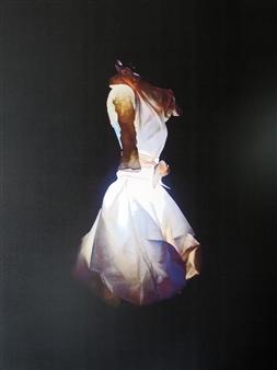 Claudia Breidenbach - Ghost Digital Artwork on Canvas, Digital Art