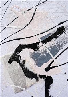 Merritt Spangler - Endings No. 15 Acrylic on Paper, Paintings
