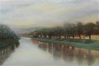 Margret Carde - Arno Oil on Canvas, Paintings