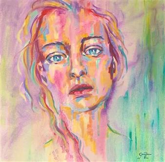Grady Zeeman - Innocence Oil on Canvas, Paintings