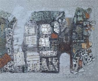 Soilart Jo-DoJoong - Stonewall Story 2 Soil on Canvas, Paintings