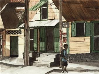 Nancy Holleran - Boy in Ft. Wayne Dominca Giclee Print, Prints