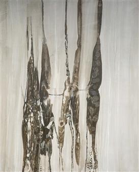 Graciela Garza - Inner Matter Acrylic & Oil on Canvas, Paintings