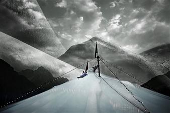 Benny De Grove - Mountain Dreams Photograph on Hahnemühle Paper, Photography