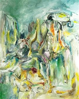 Alexandra Verbeek - Joy Oil on Linen, Paintings