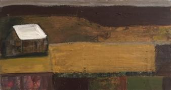 Ana Ingham - Solitude Oil on Wood, Paintings