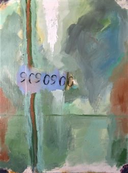 Paul Kittlaus - Untitled #124 Acrylic on Canvas, Paintings